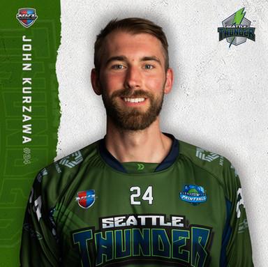 Seattle Thunder - John Kurzawa #24