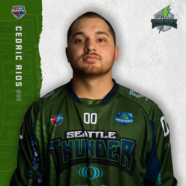 Seattle Thunder - Cedric Rios #00