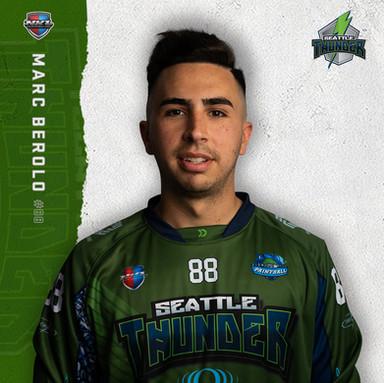 Seattle Thunder - Marc Berolo #88