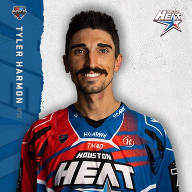 Houston Heat - Tyler Harmon #12