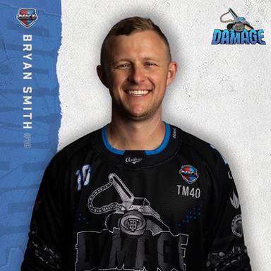 Tampa Bay Damage - Bryan Smith #18