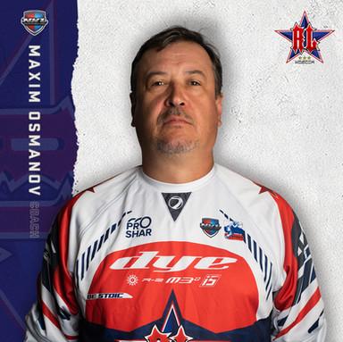 Moscow Red Legion - Maxim Osmanov (Head Coach)
