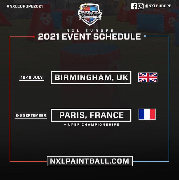 2021 NXL Europe Event Schedule (FINAL 3.