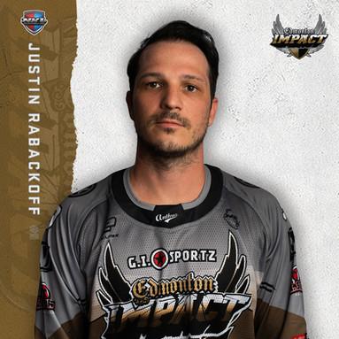 Edmonton Impact - Justin Rabackoff #9