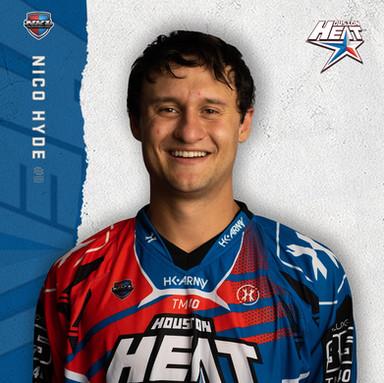 Houston Heat - Nico Hyde #0