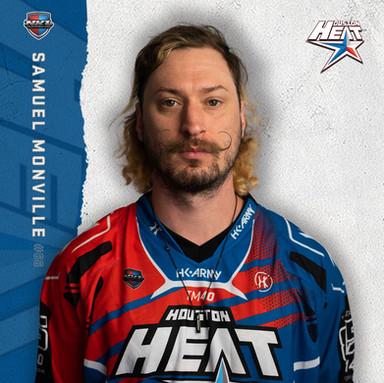 Houston Heat - Samuel Monville #66