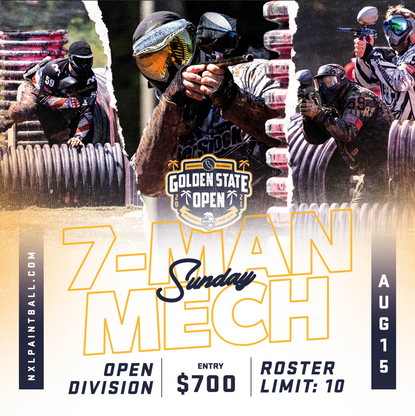 NXL Offers 7-Man Mechanical During Golden State Open, August 15th!