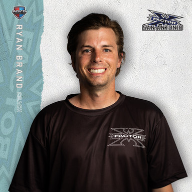 San Antonio X-Factor - Ryan Brand (Head Coach)