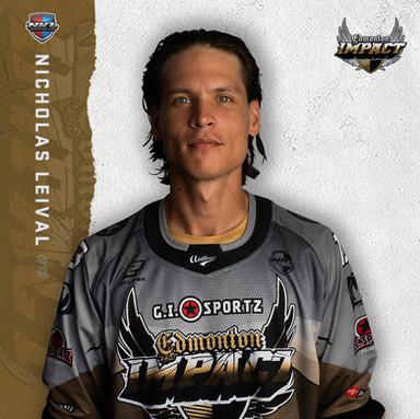 Edmonton Impact - Nicholas Leival #13