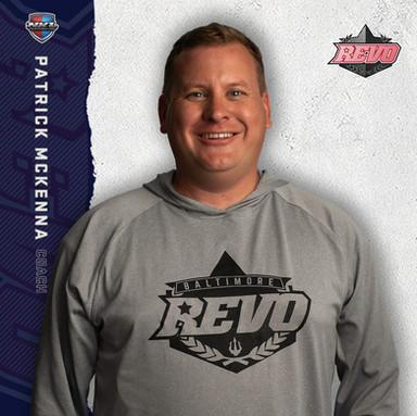 Baltimore Revo - Patrick McKenna (Head Coach)