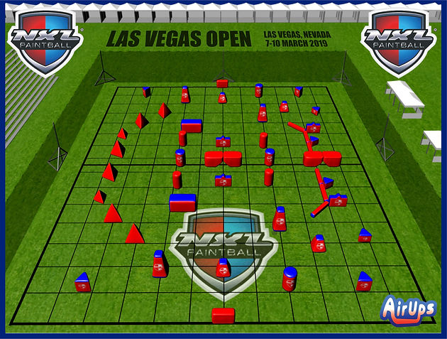 Las Vegas Open Field Layout
