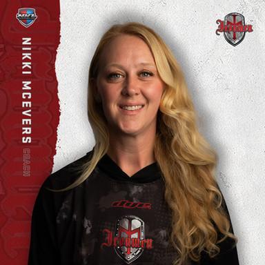 Los Angeles Ironmen - Nikki McEvers (Head Coach)