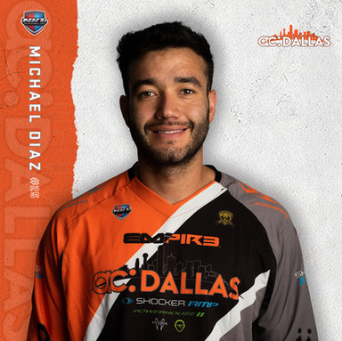 ac Dallas - Michael Diaz #25