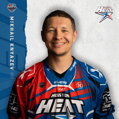 Houston Heat - Mikhail Knyazev #77