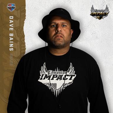 Edmonton Impact - Dave Bains (Head Coach)