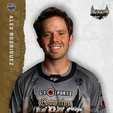 Edmonton Impact - Alex Rodriguez #3