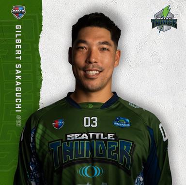 Seattle Thunder - Gilbert Sakaguchi #03