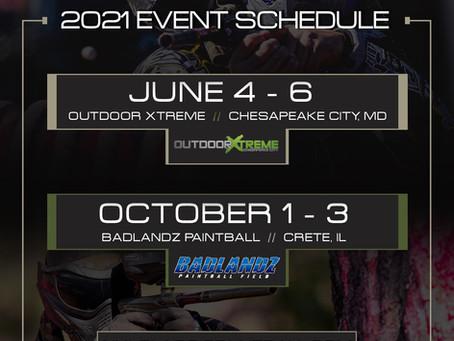 2021 ICPL Dates & Locations