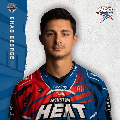 Houston Heat - Chad George #57