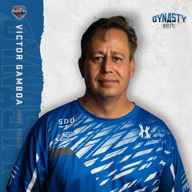 San Diego Dynasty - Victor Gamboa (Assistant Coach)