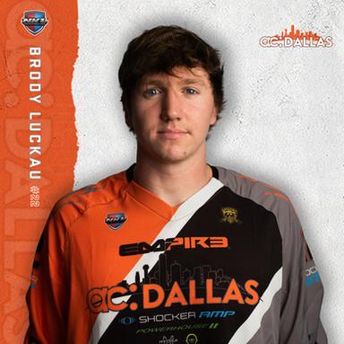 ac Dallas - Brody Luckau #22