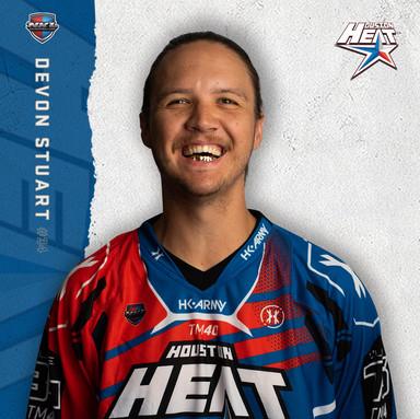 Houston Heat - Devon Stuart #34