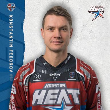 Houston Heat - Konstantin Fedorov #88