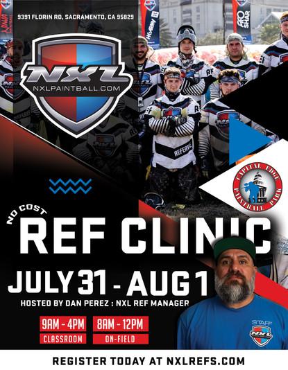 July & August Official NXL Referee Clinics (Sacramento, CA + Quereataro,  Mexico)