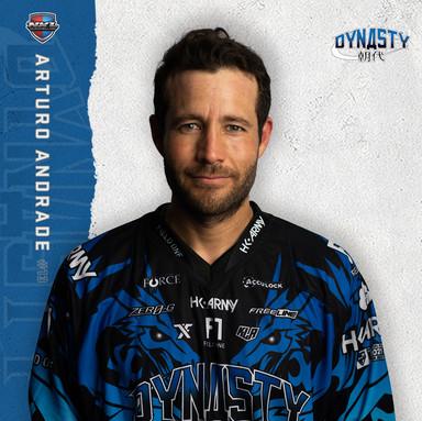 San Diego Dynasty - Arturo Andrade #13