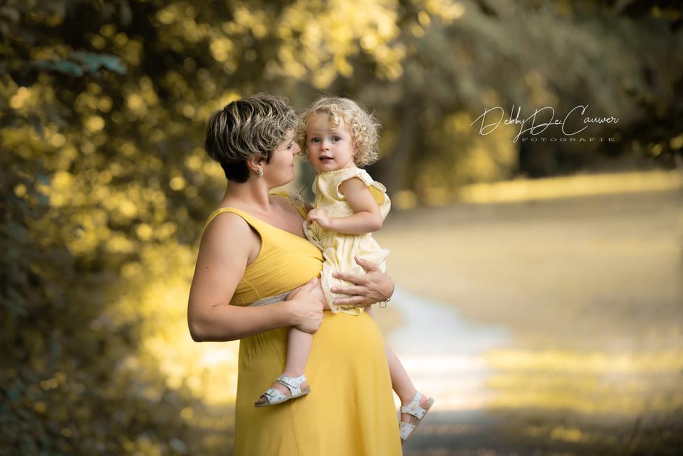Zwangerschap fotoshoot