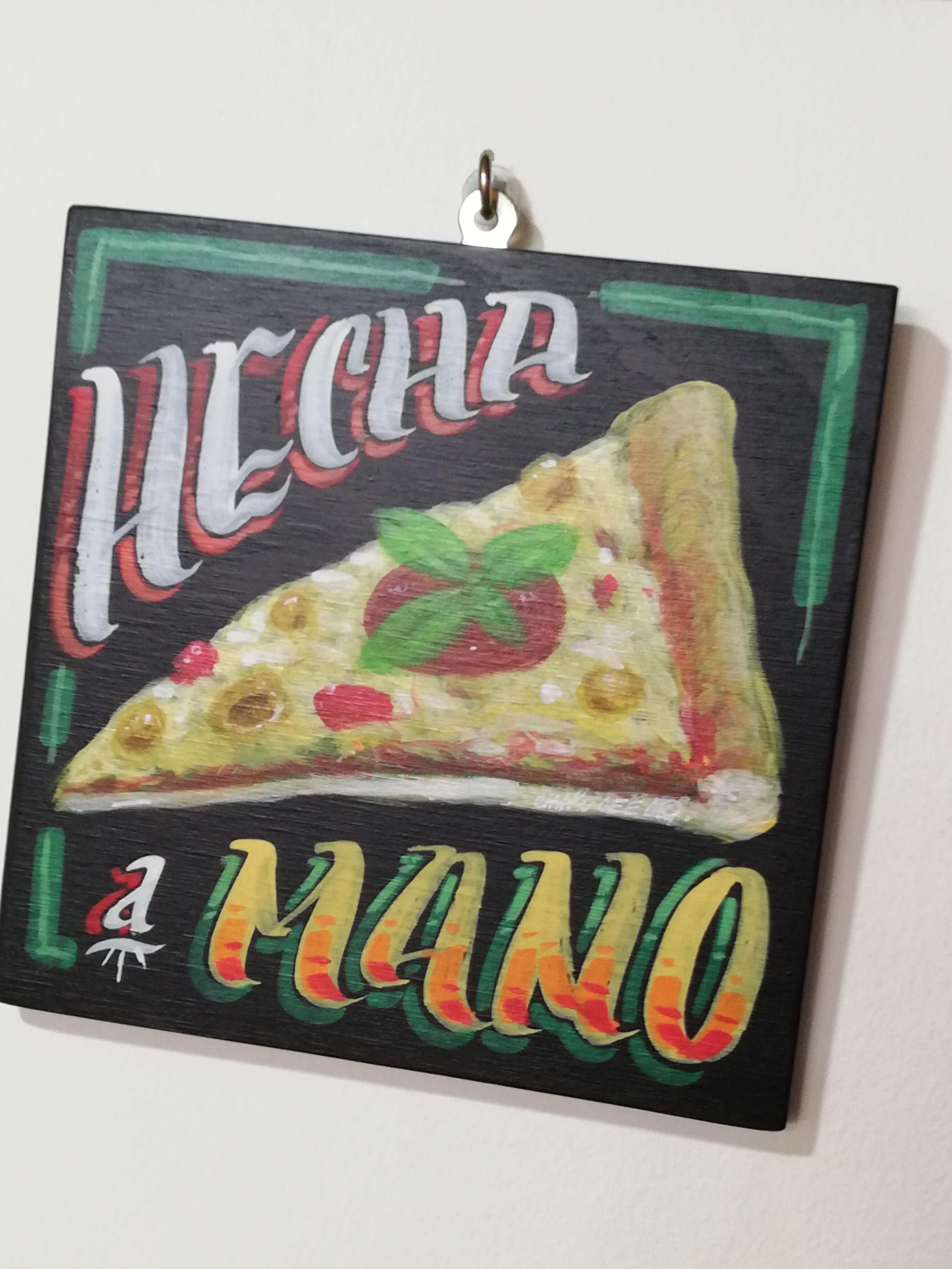 pizza hecha a mano