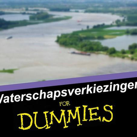 Waterschapsverkiezingen voor dummies