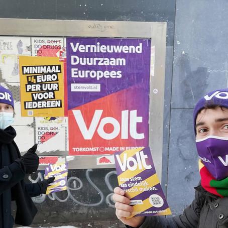 """Nieuwkomer Volt: """"Regeren stopt niet bij de grens"""""""