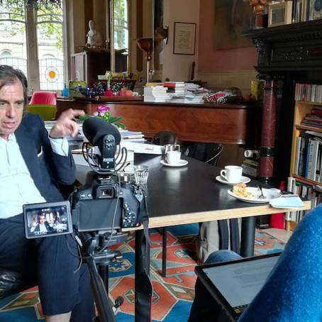 'Laat ons alstublieft een beetje ongelukkig zijn': in gesprek met Dirk De Wachter