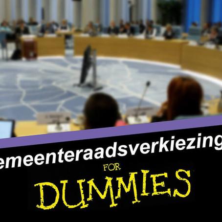 Gemeenteraadsverkiezingen voor dummies