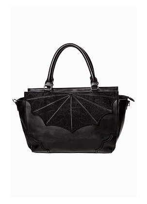 Black Widow Large Bat Wing Gothic Handbag