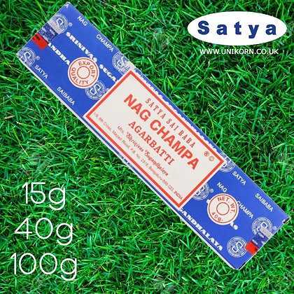 Nag Champa Incense Sticks  15G/40G/100G