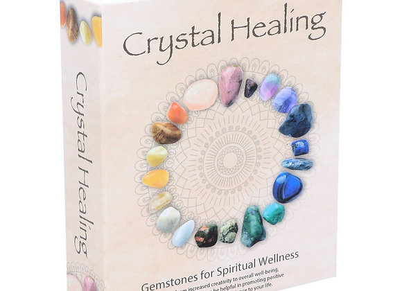Crystal Healing Set 12 Stones to Enhance Spiritual Wellness