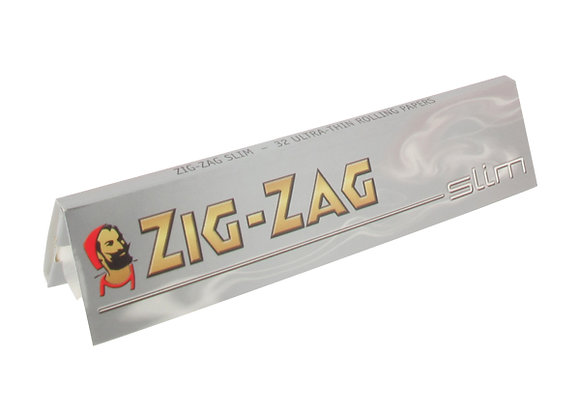 Zig Zag Silver Kingsize Slim Rolling Papers