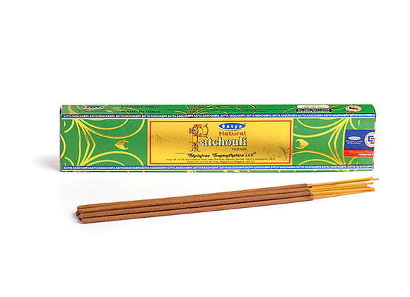 Natural Patchouli Incense Sticks