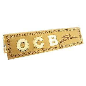OCB Gold Premium Kingsize Smoking Slim Papers