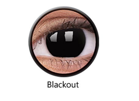 Blackout One Day Contact Lenses