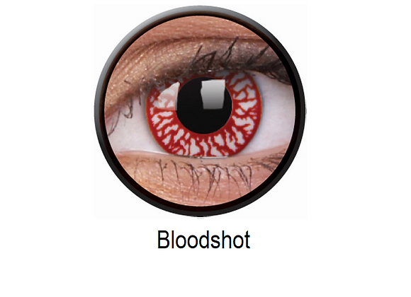 Bloodshot One Day Contact Lenses