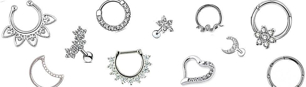 piercing body jewellery septum rings hin