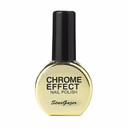 Gold Chrome Effect Polish