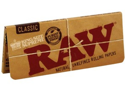 Raw Kingsize Classic Supreme Rolling Papers