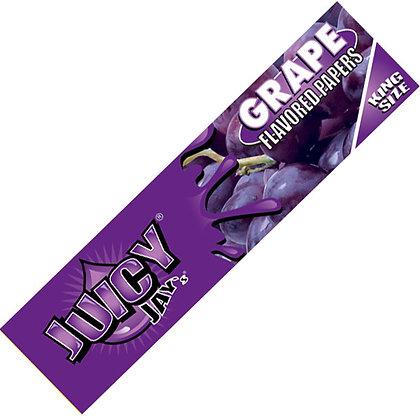 Grape Juicy Jay Kingsize Slim Rolling Papers