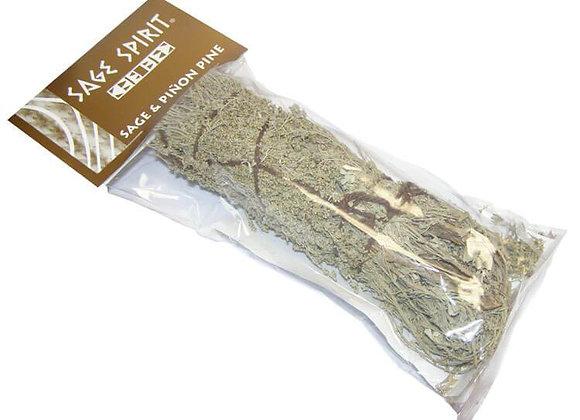 Sage and Pinon Pine Smudge Stick