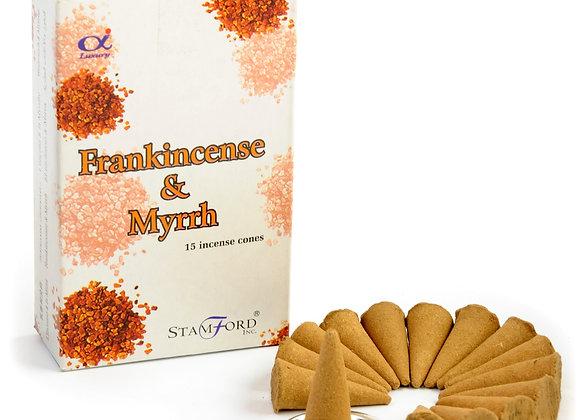 Frankincense and Myrrh Incense Cones