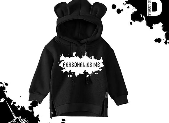 Personalised Bear Hoodie